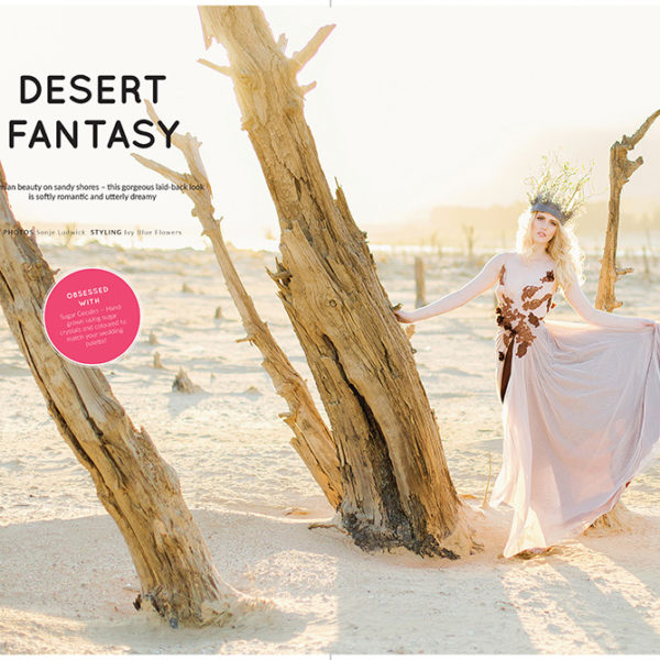 Publication: Desert Fantasy, Wedding Inspirations